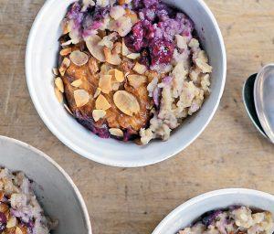 Gizzi Erskine baked porridge