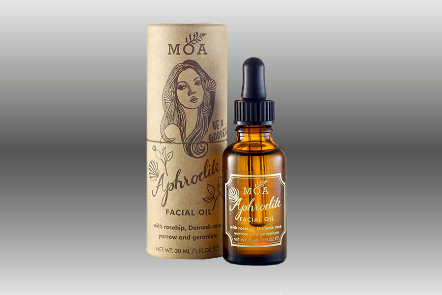 Winter skin-care - MOA facial oil