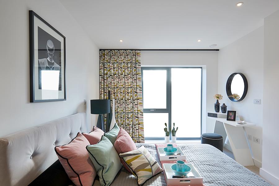 Morgan Place bedroom