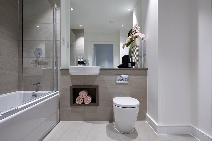 Morgan Place bathroom