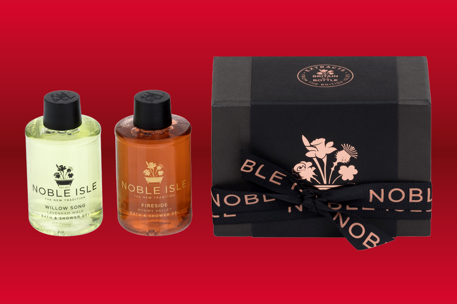 Noble Isle shower gels