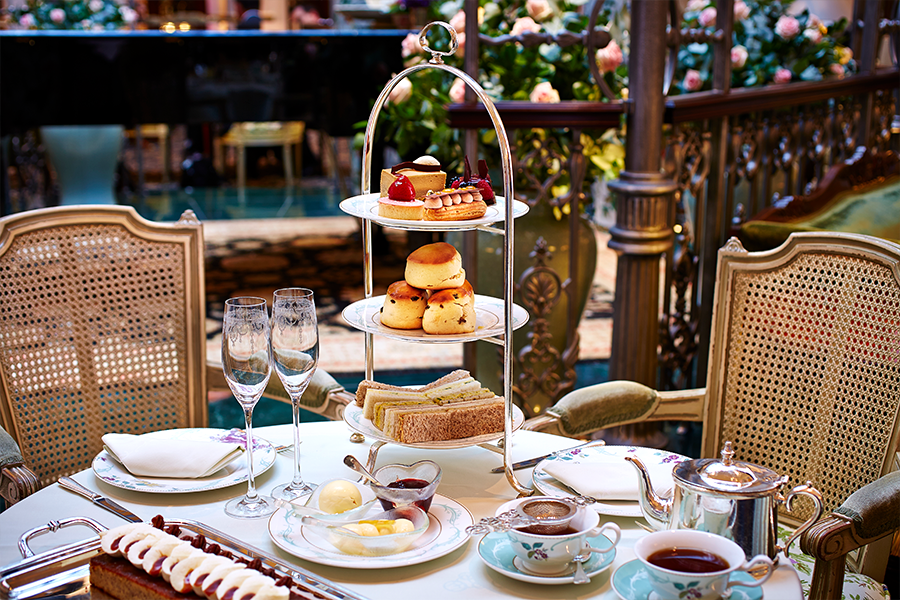 Savoy afternoon tea