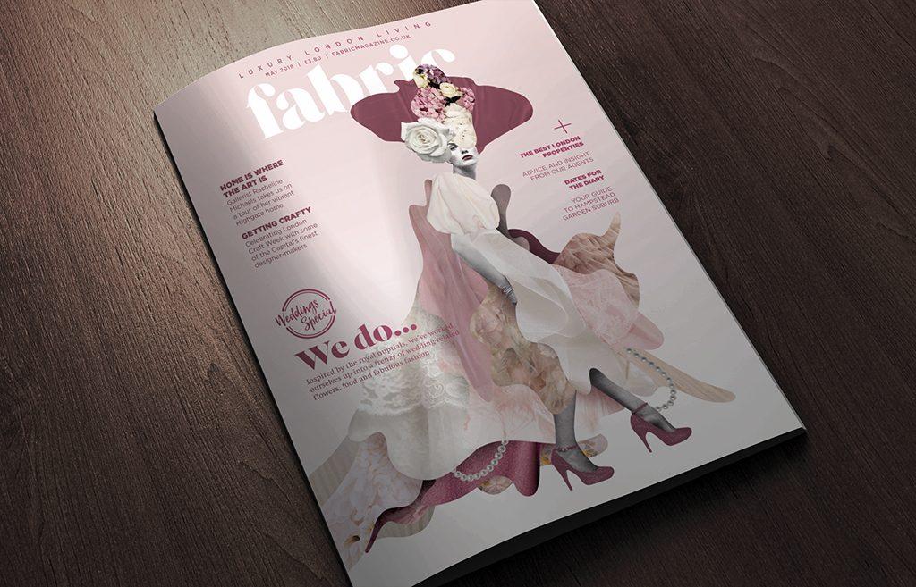 Royal Wedding Fabric magazine