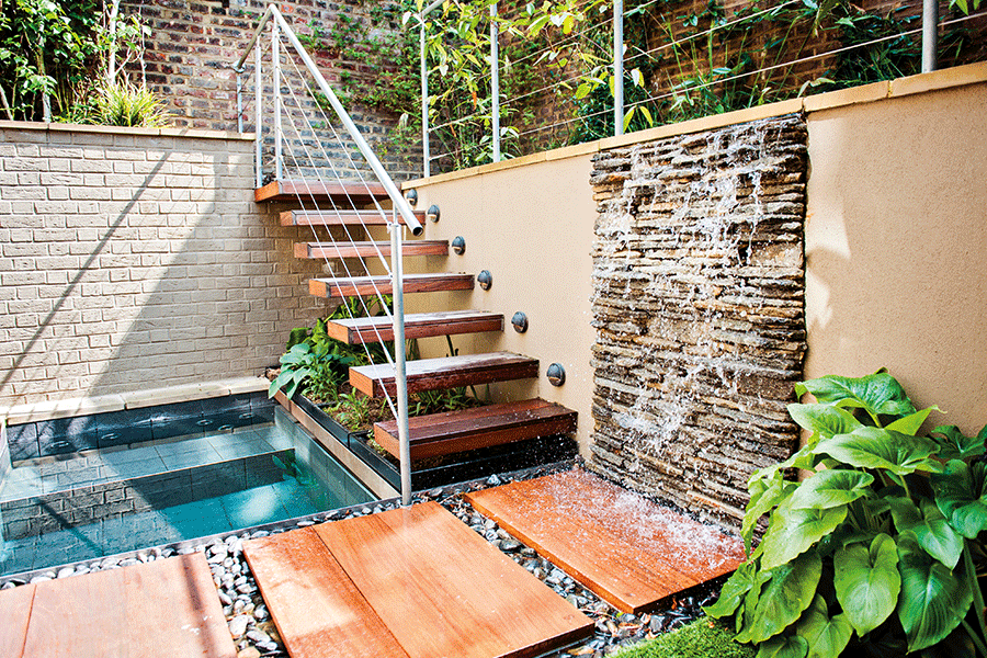 Jacuzzi Garden water feature gardens - Fabric Magazine
