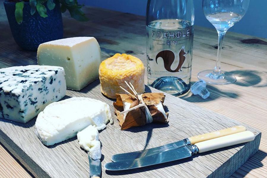 Foxhole gin and london cheesemongers