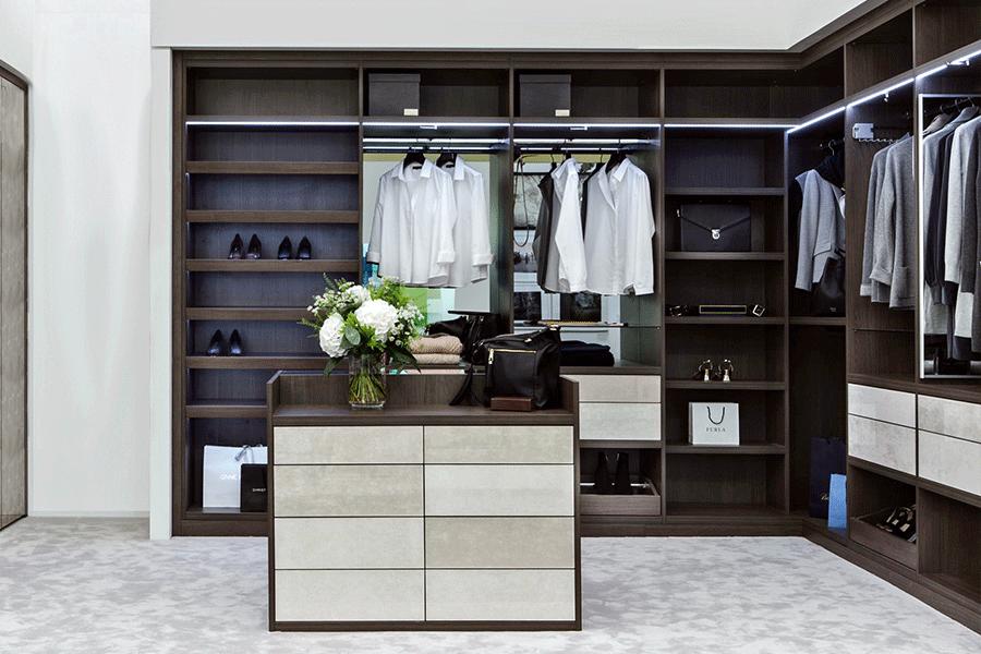 Neatsmith walk in wardrobe