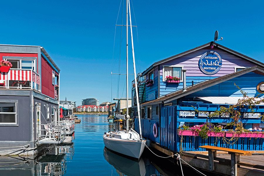 Victoria - Fisherman's Wharf