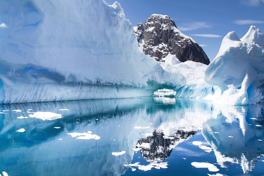 Antarctic ice pack