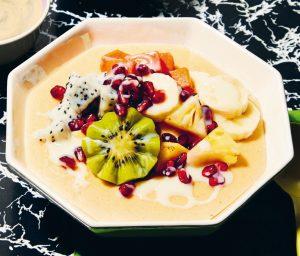 Sweet cornmeal porridge