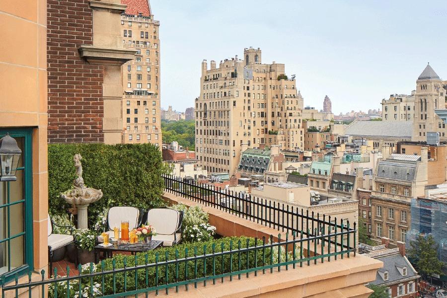 Lowell New York Garden Suite Terrace