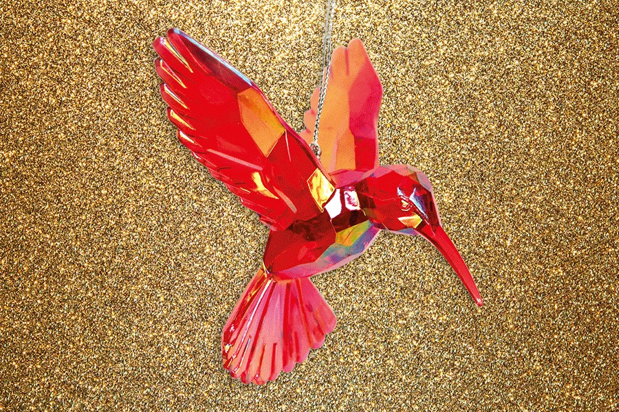 Hummingbird Tree Decoration RSPB
