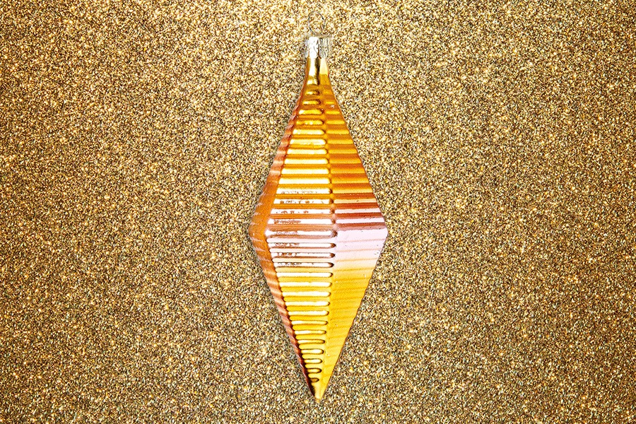 Ombre diamond bauble conran shop