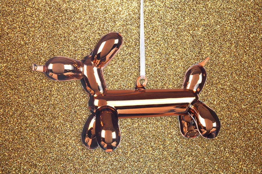 Bronze Balloon Dog Harrods