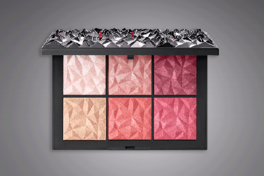 NARS Hot Tryst cheek palette, Holiday 2018 Collection
