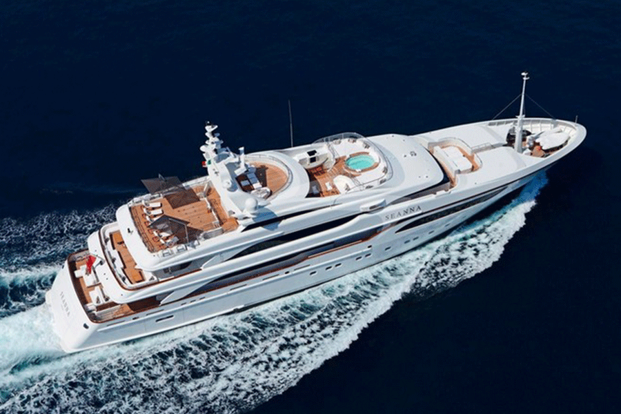 Super yacht Seanna
