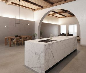 kitchens Cervino Satin island