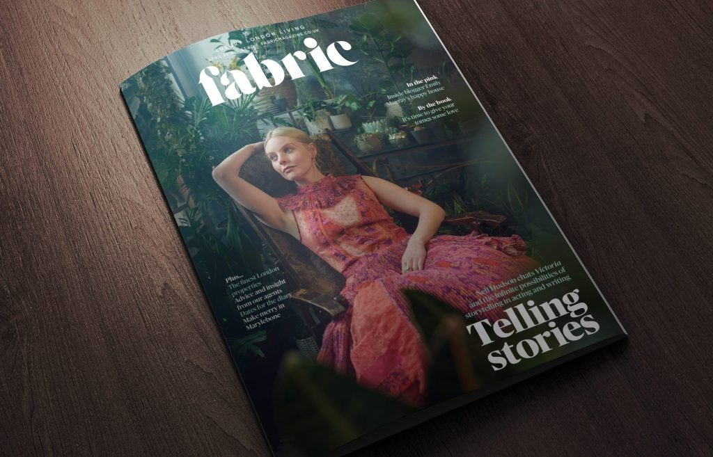 Fabric Magazine Nell Hudson April 2019