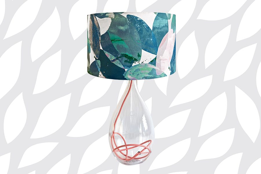 Falling Leaves Winter lamp