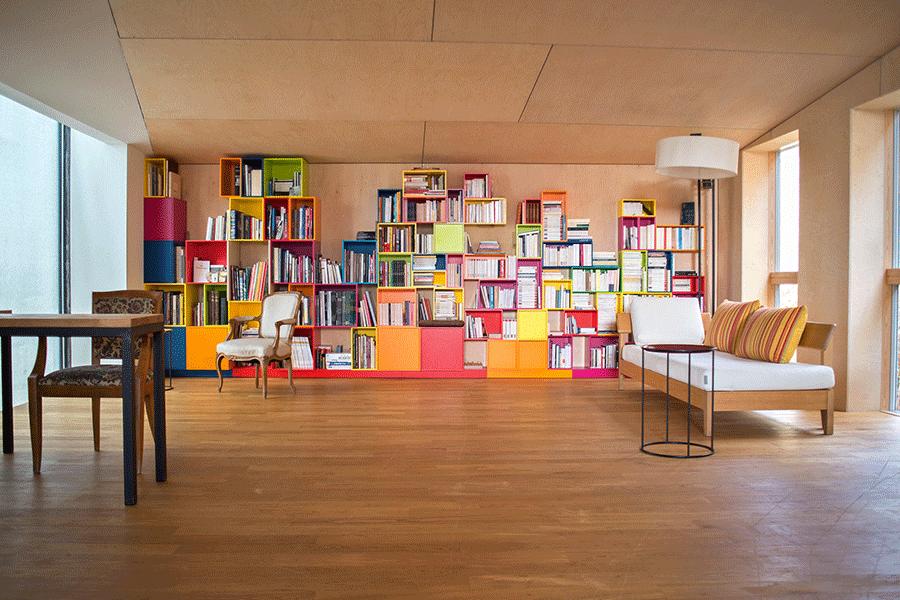 Cubit Minou Farkhondeh Thomas Reichel Bookcase - storage solutions