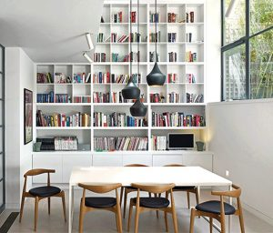 Stiff + Trevillion bookcase storage solutions