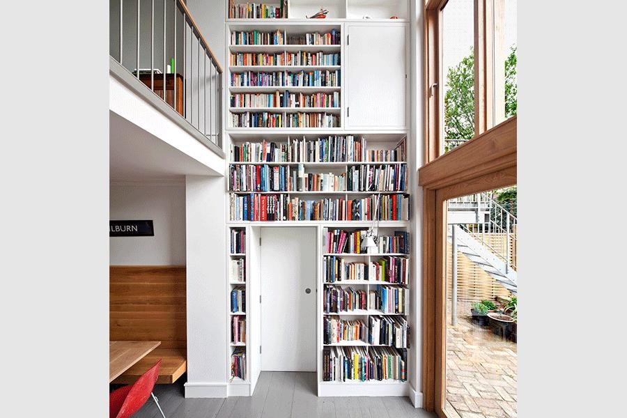 Ben Kilburn Kilburn Knightingale Bookcase - storage solutions