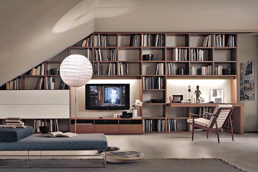 Go Modern's LEMA Selecta bookcase - storage solutions