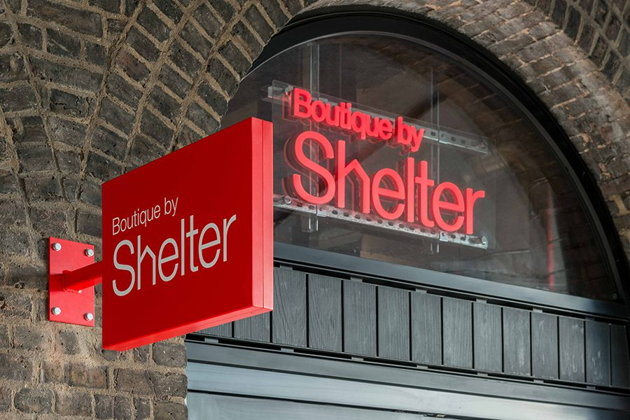 Boutique by shelter Kings Cross