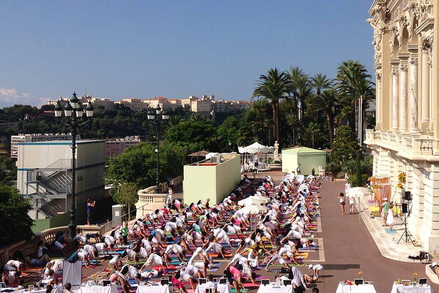 Summer solstice Yoga Monaco 2019