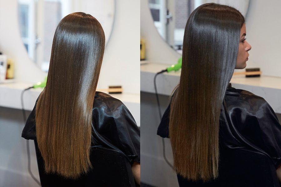 Braliz hair straightening fabric review
