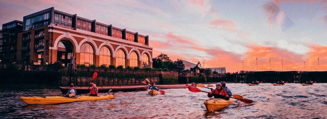 Totally Thames Festival Night Kayaking