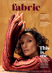 Indira Varma September 2019 Fabric Magazine