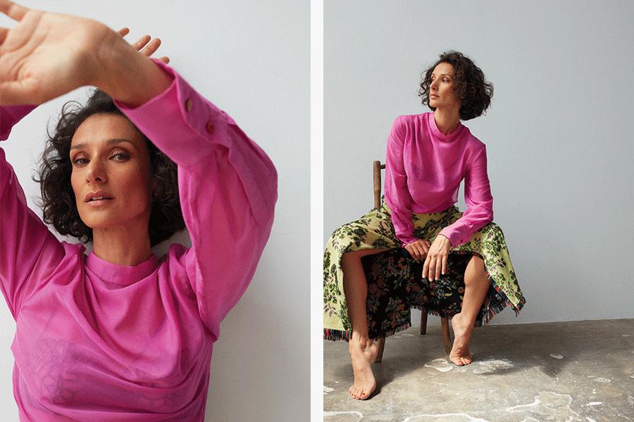 Indira Varma Exclusive Interview Fabric Magazine