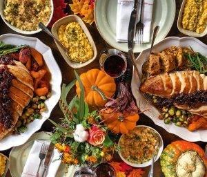 Thanksgiving at Riding House Cafe
