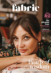 Pearl Lowe November Fabric Magazine Exclusive