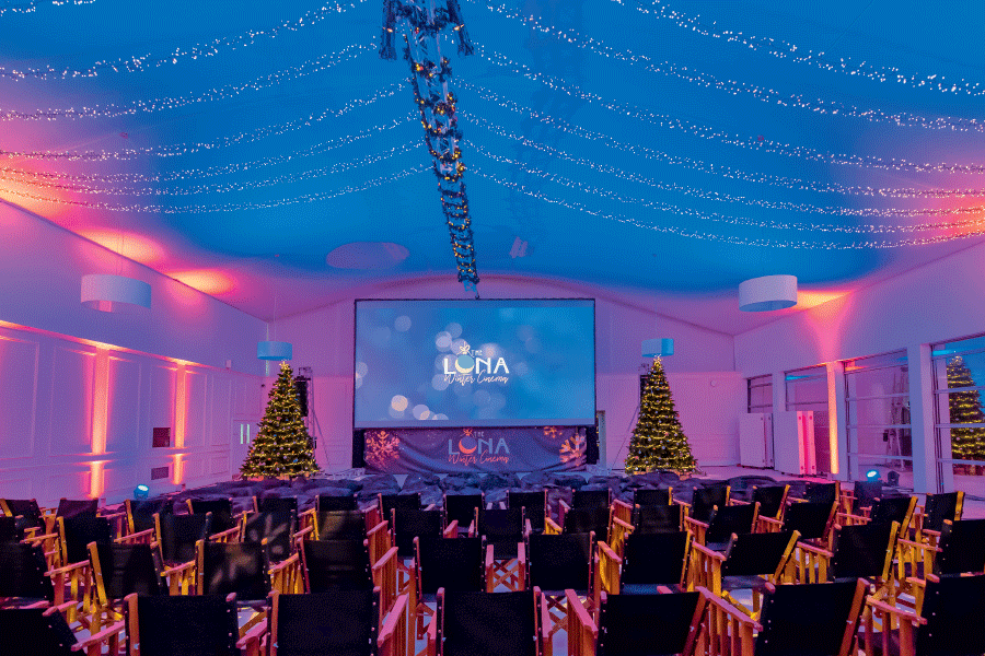 The Luna Winter Cinema Kensington Palace