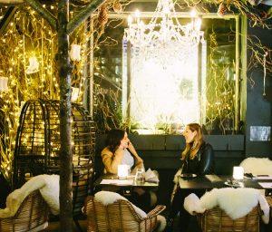 Ice Bar London Winter Terrace