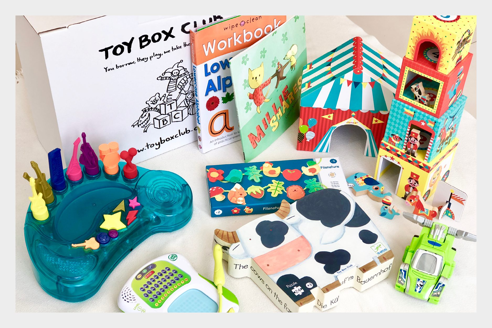 Fabric Magazine luxury cotswold rentals toy box club