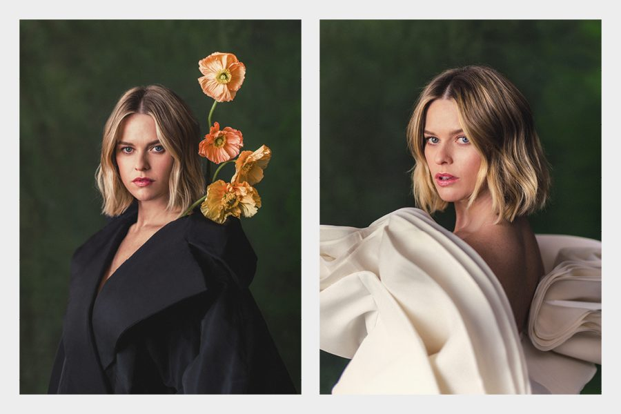 Alice Eve Fabric Magazine April 2020 Exclusive Interview