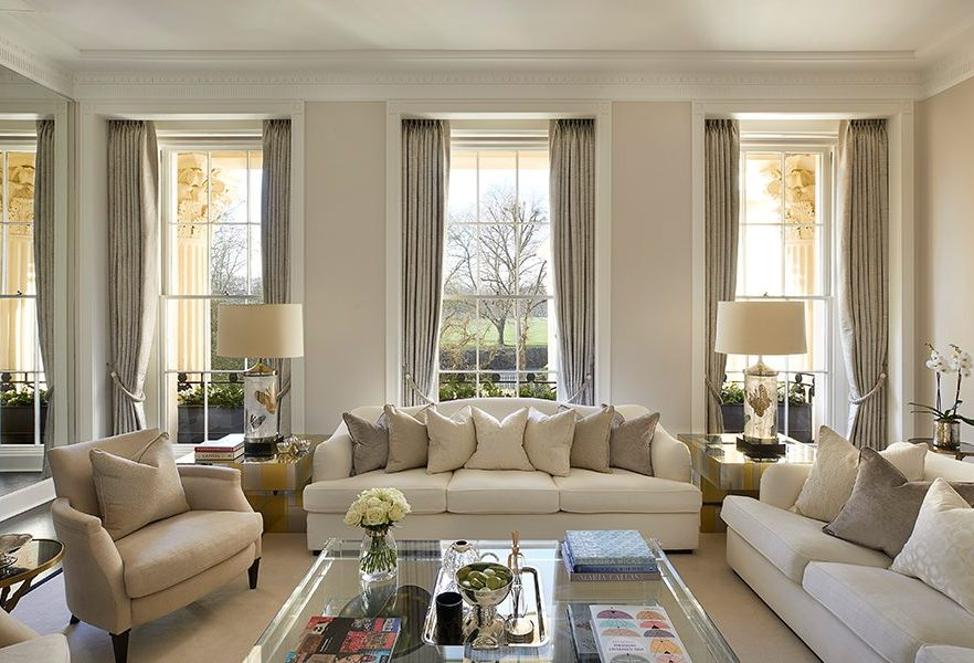 Chester Terrace, Living area