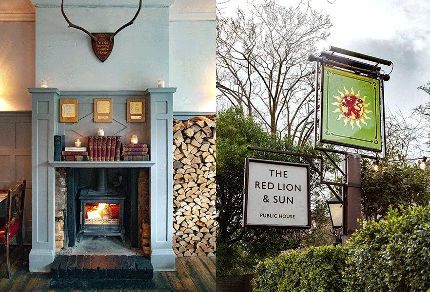 The Red Lion & Sun, N6