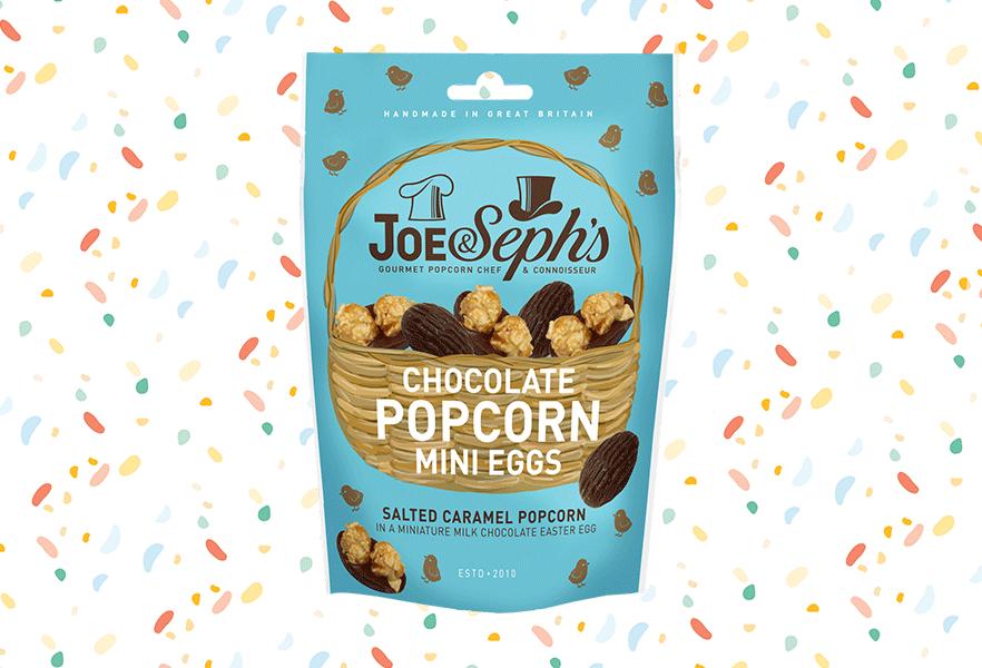 5. Joe & Seph's Chocolate Popcorn Mini Eggs, £3.50