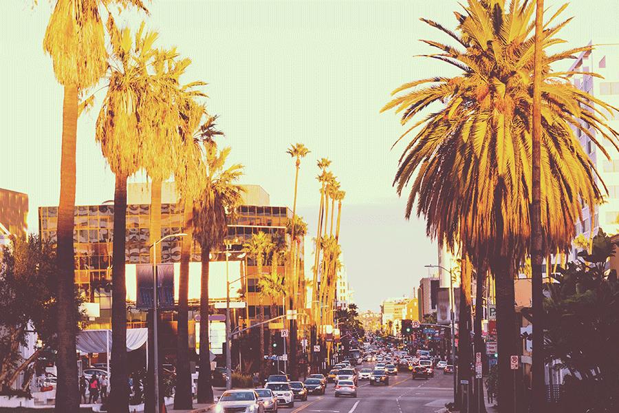 Hollywood Boulevard, Los Angeles, U.S.