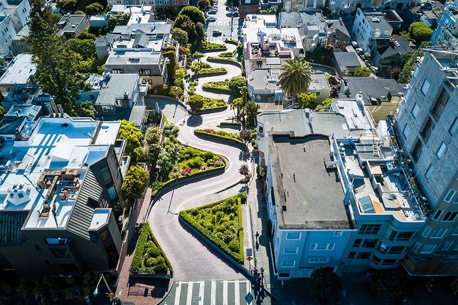 Lombard Street, San Francisco, U.S.