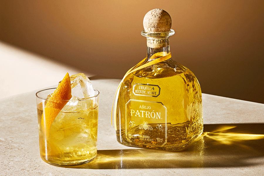 Tequila bonfire cocktails