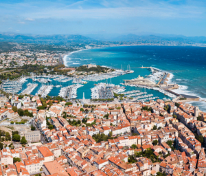French Riviera France Antibes VIew